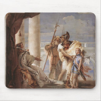 Giovanni Tiepolo:Dido disguised as Ascanius Mouse Pad