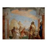 Giovanni Tiepolo:Eurybates&Talthybios Lead Briseis Postcard