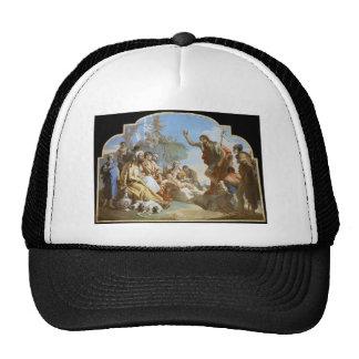 Giovanni Tiepolo: John the Baptist Preaching Mesh Hats
