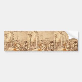 Giovanni Tiepolo- Lamentation at the Foot of Cross Car Bumper Sticker