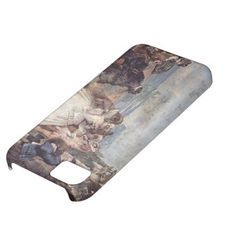 Giovanni Tiepolo-Minuet with Pantaloon & Colombine iPhone 5C Cover