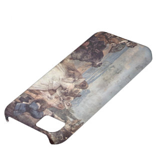 Giovanni Tiepolo-Minuet with Pantaloon & Colombine iPhone 5C Cases
