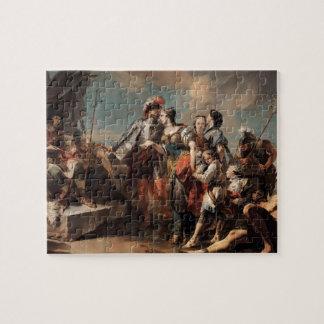 Giovanni Tiepolo:Queen Zenobia&Emperor Aurelianus Jigsaw Puzzle