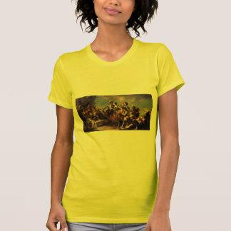 Giovanni Tiepolo:Queen Zenobia&Emperor Aurelianus T-Shirt