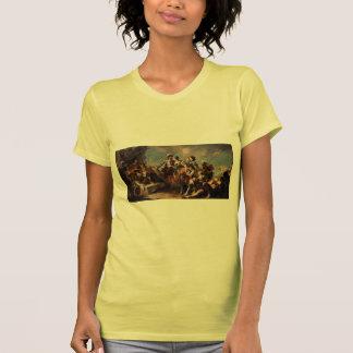 Giovanni Tiepolo:Queen Zenobia&Emperor Aurelianus Tshirt