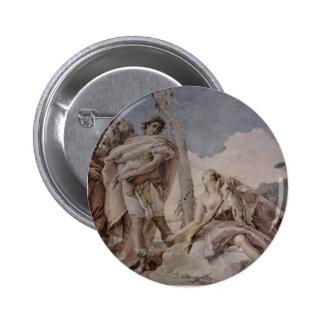 Giovanni Tiepolo: Rinaldo Abandoning Armida Pinback Button