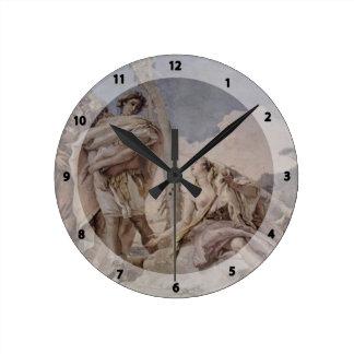 Giovanni Tiepolo: Rinaldo Abandoning Armida Wallclock