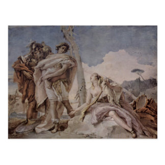 Giovanni Tiepolo: Rinaldo Abandoning Armida Postcard