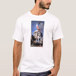 Giovanni Tiepolo- St James Conquering the Moors T-Shirt