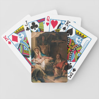 Giovanni Tiepolo- The Adoration of the Shepherds Bicycle Playing Cards