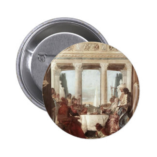 Giovanni Tiepolo: The Banquet of Cleopatra Pinback Button