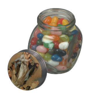 Giovanni Tiepolo- The Immaculate Conception Jelly Belly Candy Jars