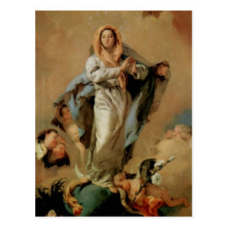 Giovanni Tiepolo- The Immaculate Conception Postcard