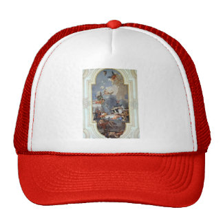 Giovanni Tiepolo: The Institution of the Rosary Mesh Hat