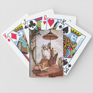 Giovanni Tiepolo: The Mandarin's Walk Bicycle Playing Cards