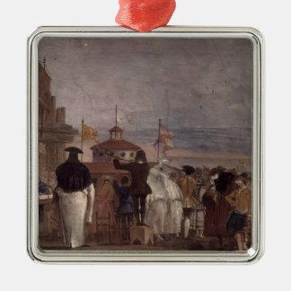 Giovanni Tiepolo: The New World Christmas Tree Ornaments