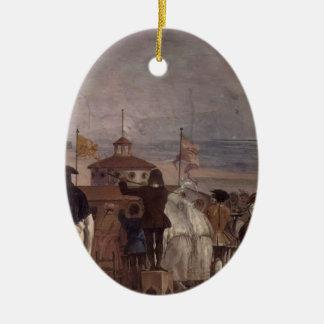 Giovanni Tiepolo: The New World Christmas Ornaments