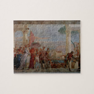 Giovanni Tiepolo- The reception of Henry III Jigsaw Puzzle
