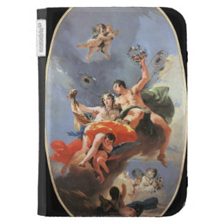 Giovanni Tiepolo- The Triumph of Zephyr and Flora Kindle Cover