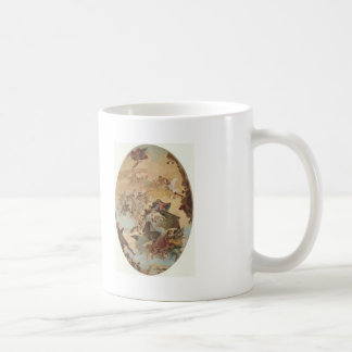 Giovanni Tiepolo:Transportation of the Holy House Classic White Coffee Mug