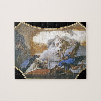 Giovanni Tiepolo: Virgin Appearing to St Dominic Puzzle