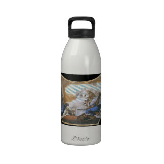 Giovanni Tiepolo Virgin Appearing to St Dominic Reusable Water Bottles