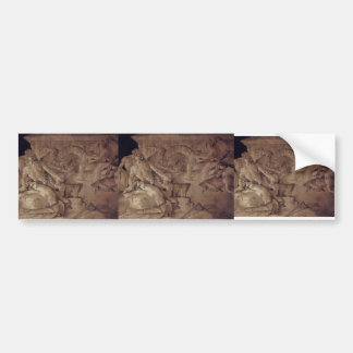 Giovanni Tiepolo:Vulcan to forge armor for Aeneas Bumper Stickers