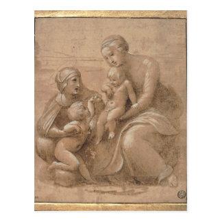 giovannino del san del bambino del col del madonna postal