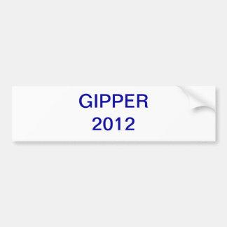 Gipper 2012 etiqueta de parachoque