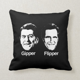 GIPPER AND FLIPPER.png Throw Pillow