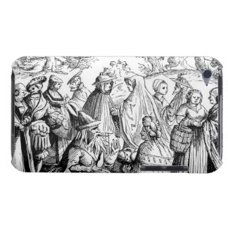 Gipsies fortune telling, after a woodcut in 'Cosmo Barely There iPod Cases