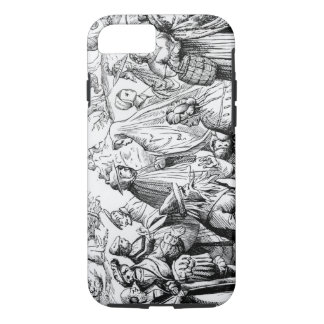 Gipsies fortune telling, after a woodcut in 'Cosmo iPhone 7 Case