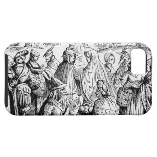 Gipsies fortune telling, after a woodcut in 'Cosmo iPhone SE/5/5s Case