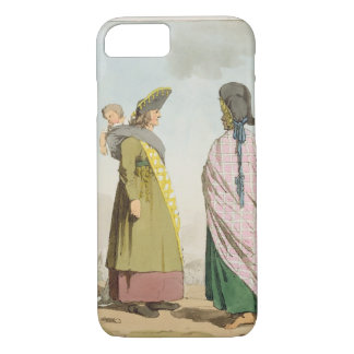 Gipsies, plate 25 from Volume I of 'The Manners, C iPhone 7 Case