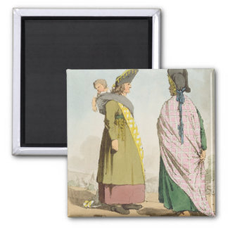 Gipsies, plate 25 from Volume I of 'The Manners, C Magnet
