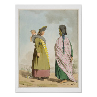 Gipsies, plate 25 from Volume I of 'The Manners, C Poster
