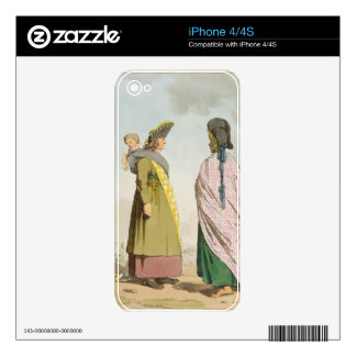 Gipsies, plate 25 from Volume I of 'The Manners, C Decals For iPhone 4S