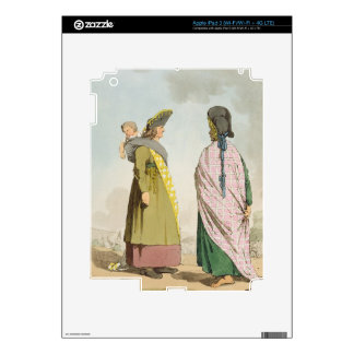 Gipsies, plate 25 from Volume I of 'The Manners, C iPad 3 Skins