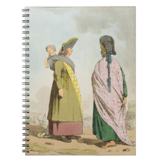 Gipsies, plate 25 from Volume I of 'The Manners, C Spiral Notebook