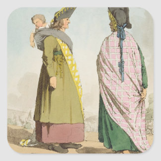 Gipsies, plate 25 from Volume I of 'The Manners, C Square Sticker