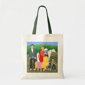 Gipsy Family 1986 Budget Tote Bag