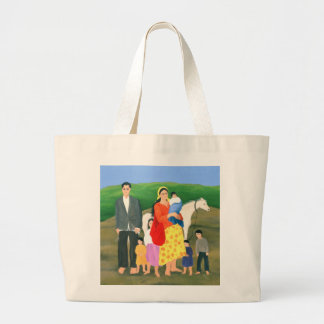 Gipsy Family 1986 Jumbo Tote Bag