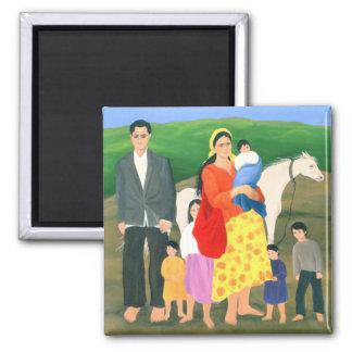 Gipsy Family 1986 Magnet