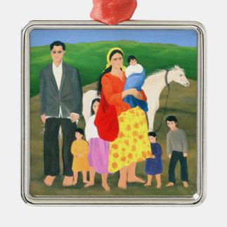 Gipsy Family 1986 Metal Ornament