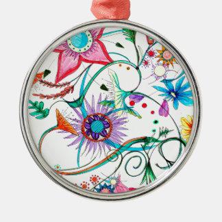 Gipsy garden metal ornament