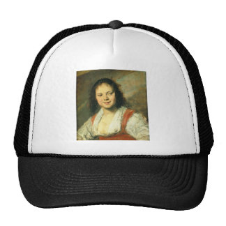 Gipsy Girl by Frans Hals Hat