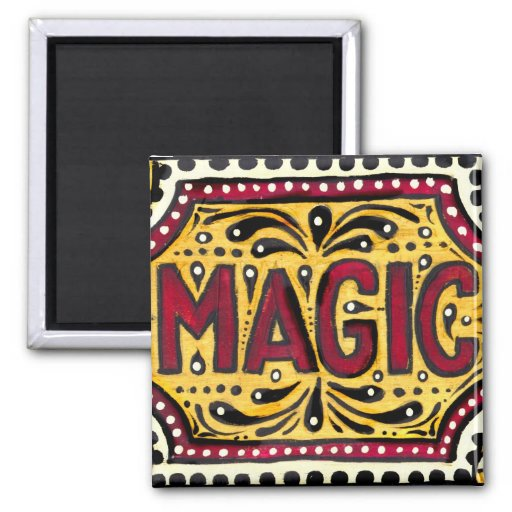 Gipsy Magic 2 Inch Square Magnet