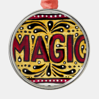 Gipsy Magic Metal Ornament