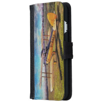 Gipsy Moth Wallet Phone Case For iPhone 6/6s
