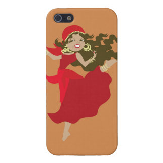Gipsy pinup dancer case for iPhone SE/5/5s